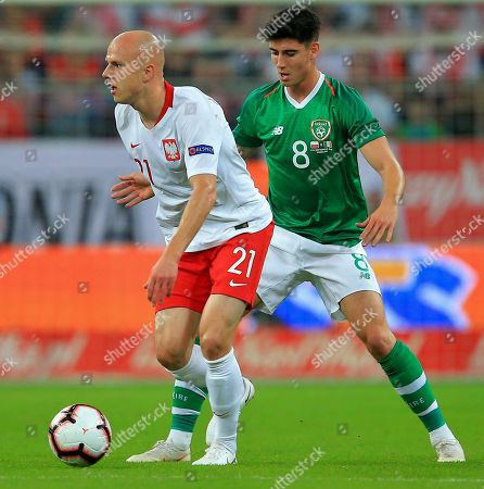 Editorial image of Poland v Republic of Ireland, International Friendly,  Football, Stadion Miejski, Wroclaw, Poland - 11 Sep 2018