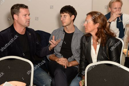 Will Martyr, Nick Hornby and Nicky Carter