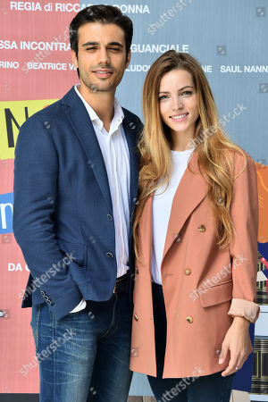 Gianmarco Saurino and Aurora Ruffino