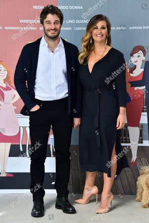 Lino Guanciale and Vanessa Incontrada