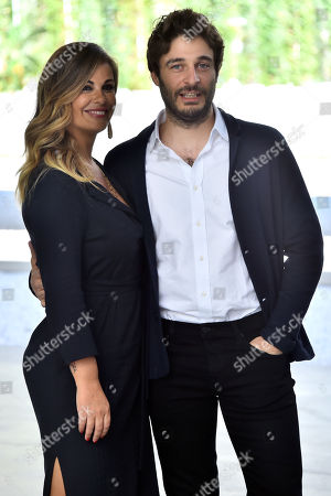 Stock Image of Lino Guanciale and Vanessa Incontrada