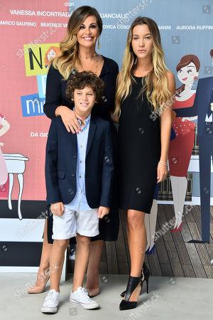 Vanessa Incontrada Cristian and Ludovica Coscione