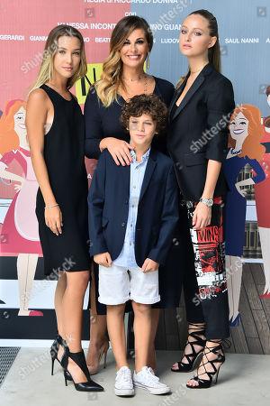 Vanessa Incontrada Cristian Beatrice Vendramin and Ludovica Coscione