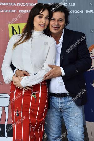 Chiara Francini and Antonio Gerardi