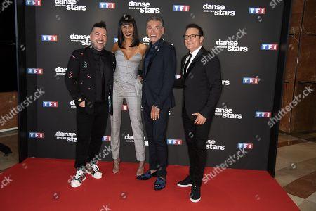 Chris Marques, Shy m, Patrick Dupond and Jean-Marc Genereux