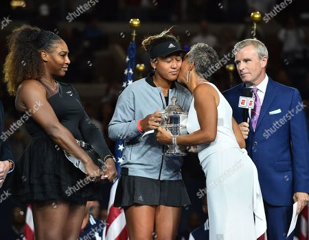 Editorial photo of US Open Tennis Championships, Day 13, USTA National Tennis Center, Flushing Meadows, New York, USA - 08 Sep 2018