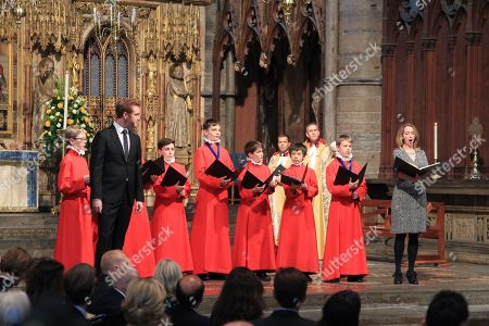 Lucy Crowe, soprano, and Tim Mead, Counter-tenor, with Choristers from the Choir of Westminster Abbey - performing Final Scene from MidSummer Night's Dream.