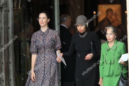 Rebecca Hall, Maria Ewing and Leslie Caron