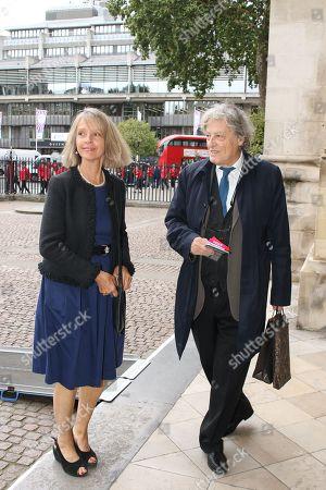 Sabrina Guinness and Tom Stoppard