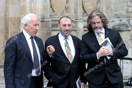 Stock Picture of Simon Callow, Sir Anthony Sher and Gregory Doran