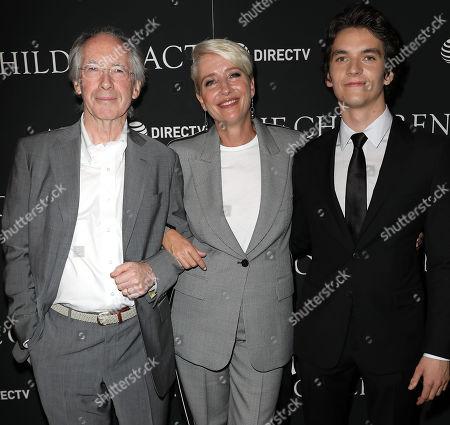 Ian McEwan (Writer), Emma Thompson and Fionn Whitehead