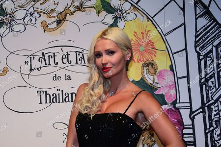 Editorial photo of The art and soul of Thailand gala, Paris, France - 11 Sep 2018