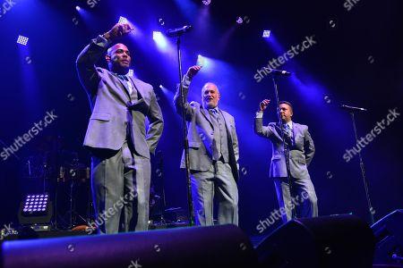 Editorial picture of Rafael Thier, Charlie Zaa and Orquesta Adolescentes in concert, Miami, USA - 08 Sep 2018
