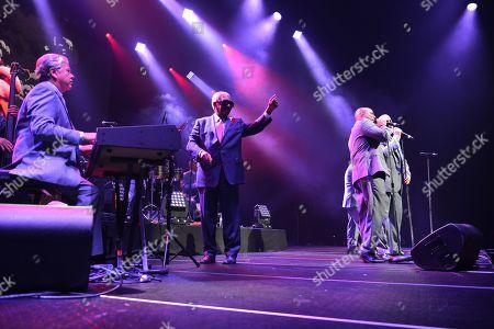 Editorial photo of Rafael Thier, Charlie Zaa and Orquesta Adolescentes in concert, Miami, USA - 08 Sep 2018
