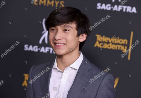 Forrest Wheeler arrives at the 2018 Dynamic and Diverse Emmy Nominee Reception presented by the Television Academy, in North Hollywood, Calif