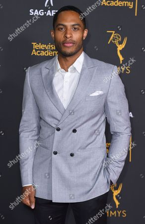 Brandon P. Bell arrives at the 2018 Dynamic and Diverse Emmy Nominee Reception presented by the Television Academy, in North Hollywood, Calif