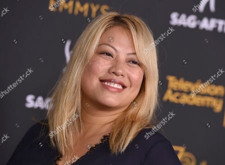Kulap Vilaysack arrives at the 2018 Dynamic and Diverse Emmy Nominee Reception presented by the Television Academy, in North Hollywood, Calif