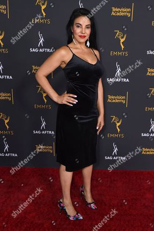 Tilda Del Toro arrives at the 2018 Dynamic and Diverse Emmy Nominee Reception presented by the Television Academy, in North Hollywood, Calif