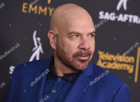 Jason Stuart arrives at the 2018 Dynamic and Diverse Emmy Nominee Reception presented by the Television Academy, in North Hollywood, Calif