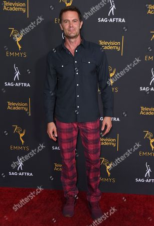 Garret Dillahunt arrives at the 2018 Dynamic and Diverse Emmy Nominee Reception presented by the Television Academy, in North Hollywood, Calif