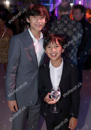 Forrest Wheeler, Ian Chen. Forrest Wheeler, left, and Ian Chen attend the 2018 Dynamic and Diverse Emmy Nominee Reception presented by the Television Academy, in North Hollywood, Calif