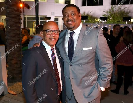 Rickey Minor, Cedric Yarbrough. Rickey Minor, left, and Cedric Yarbrough attend the 2018 Dynamic and Diverse Emmy Nominee Reception presented by the Television Academy, in North Hollywood, Calif