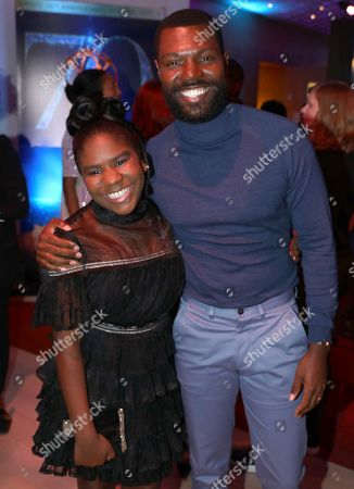 Trinitee Stokes, Will Catlett. Trinitee Stokes, left, and Will Catlett attend the 2018 Dynamic and Diverse Emmy Nominee Reception presented by the Television Academy, in North Hollywood, Calif