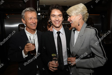 Duncan Kenworthy (Producer), Fionn Whitehead and Emma Thompson