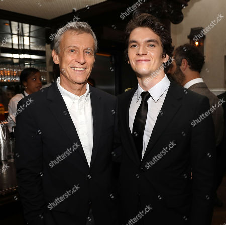 Duncan Kenworthy (Producer) and Fionn Whitehead