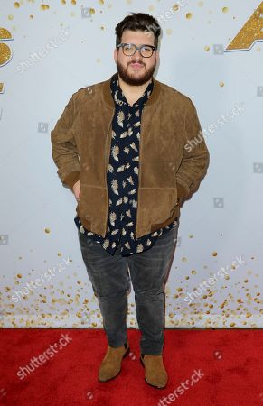 """Noah Guthrie arrives at the """"America's Got Talent"""" Season 13 Week 5 red carpet at the Dolby Theatre, in Los Angeles"""