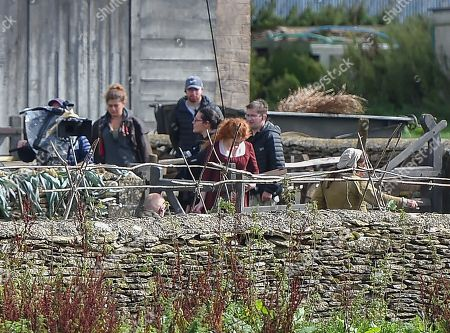 Editorial picture of 'Poldark' on set filming, Wiltshire, UK - 11 Sep 2018