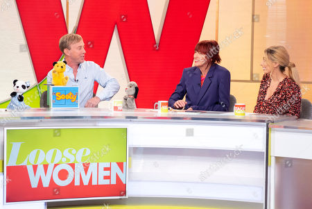 Soo, Sooty, Richard Cadell, Sweep, Janet Street-Porter and Stacey Solomon