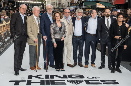 Jim Broadbent, Michael Gambon, Sir Michael Caine, Francesca Annis, Ray Winstone, Tom Courtenay, Paul Whitehouse, Charlie Cox and Jamie Cullum