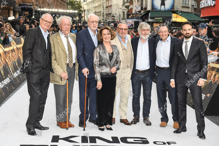 Jim Broadbent, Michael Gambon, Sir Michael Caine, Francesca Annis, Ray Winstone, Tom Courtenay, Paul Whitehouse and Charlie Cox