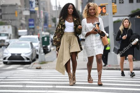 Editorial picture of Street Style, Spring Summer 2019, New York Fashion Week, USA - 11 Sep 2018