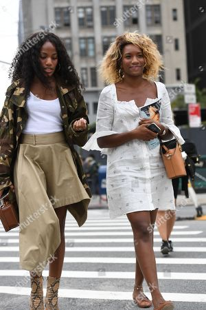 Editorial photo of Street Style, Spring Summer 2019, New York Fashion Week, USA - 11 Sep 2018