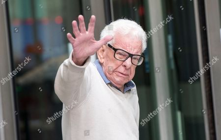 Barry Cryer at BBC Broadcasting House
