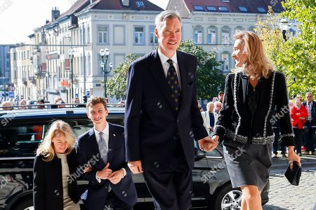Prince Paul-Louis of Luxembourg / Hereditary Grand Duke Guillaume of Luxembourg of Luxembourg / Princess Sibilla of Luxembourg