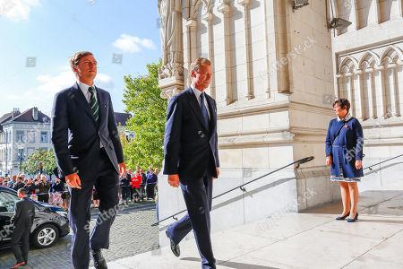 Prince Sebastien of Luxembourg / Grand Duke Henri of Luxembourg