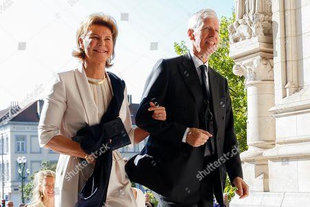 Stock Image of Princess Margaretha of Liechtenstein / Prince Nikolaus of Liechtenstein