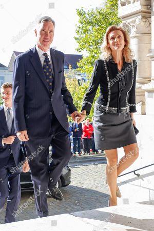Hereditary Grand Duke Guillaume of Luxembourg of Luxembourg / Princess Sibilla of Luxembourg
