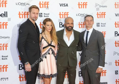 Alexander Skarsgard, Riley Keough, Jeffrey Wright and Jeremy Saulnier