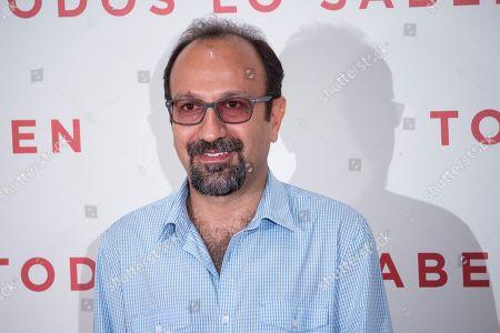Stock Image of Asghar Farhadi