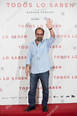 Stock Picture of Asghar Farhadi