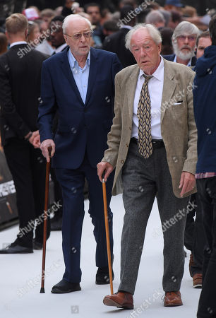 Sir Michael Caine and Michael Gambon