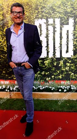 German journalist Kai Diekmann on the red carpet of the 'BILD100 summer party' event in Berlin, Germany, 12 September 2018. 100 of the most important decision-makers from politics and business as well as well-known personalities from sports, art and culture are expected at the event held by Germany's highest-circulation newspaper BILD.