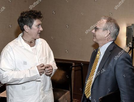 Singer/Songwriter KD Lang and Nashville Mayor David Briley