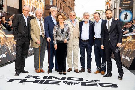 Jim Broadbent, Sir Michael Gambon, Sir Michael Caine, Francesca Annis, Ray Winstone, Sir Tom Courtenay, Paul Whitehouse and Charlie Cox