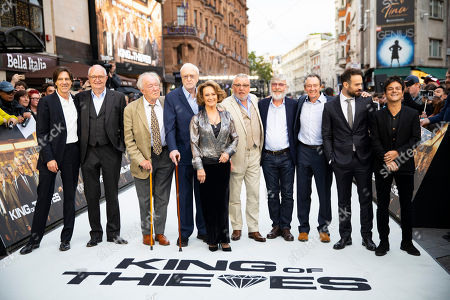 Stock Picture of James Marsh, Jim Broadbent, Sir Michael Gambon, Sir Michael Caine, Francesca Annis, Ray Winstone, Sir Tom Courtenay, Paul Whitehouse, Charlie Cox and Jamie Cullum