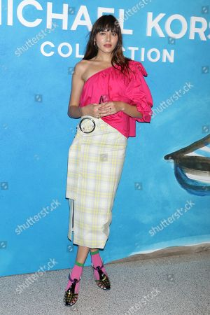 Editorial photo of Michael Kors show, Arrivals, Spring Summer 2019, New York Fashion Week, USA - 12 Sep 2018